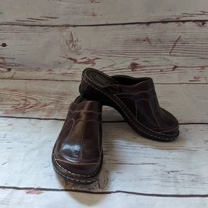 Josef Seibel Stitched Clogs Size 36/ 5-5.5